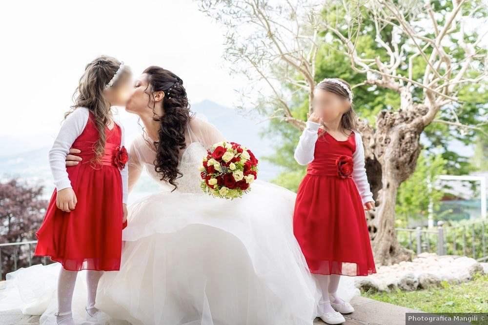 il tradizionale bouquet da sposa