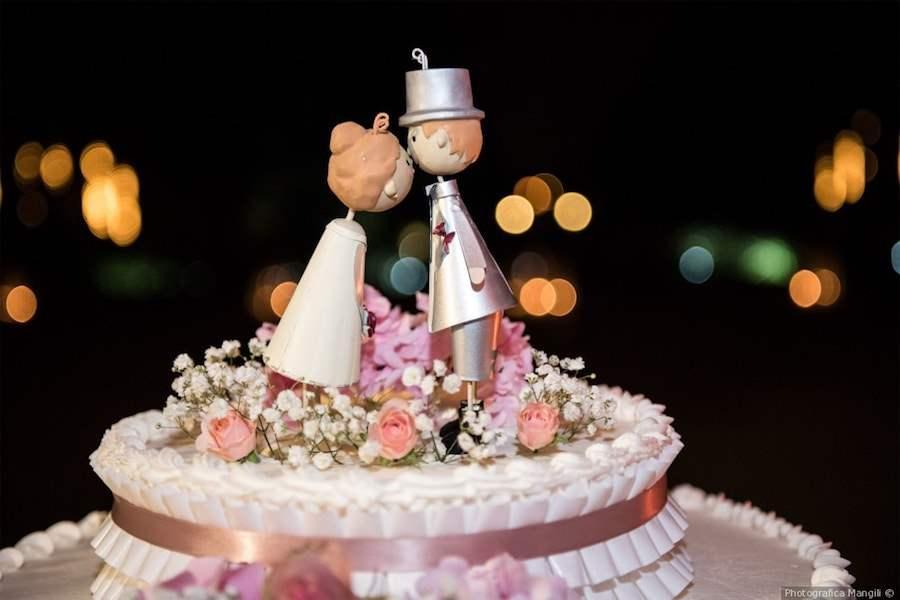 Torta Matrimonio Rustico : Le torte nuziali
